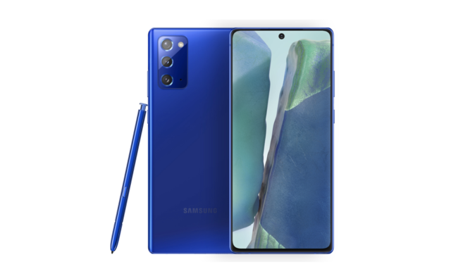 Samsung Galaxy Note 20 Mystic Blue variant now available in India