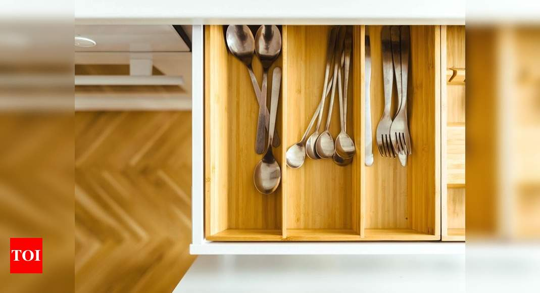 Picture of: Drawer Organizers To Help You Neatly Place Your Kitchen Essentials Most Searched Products Times Of India