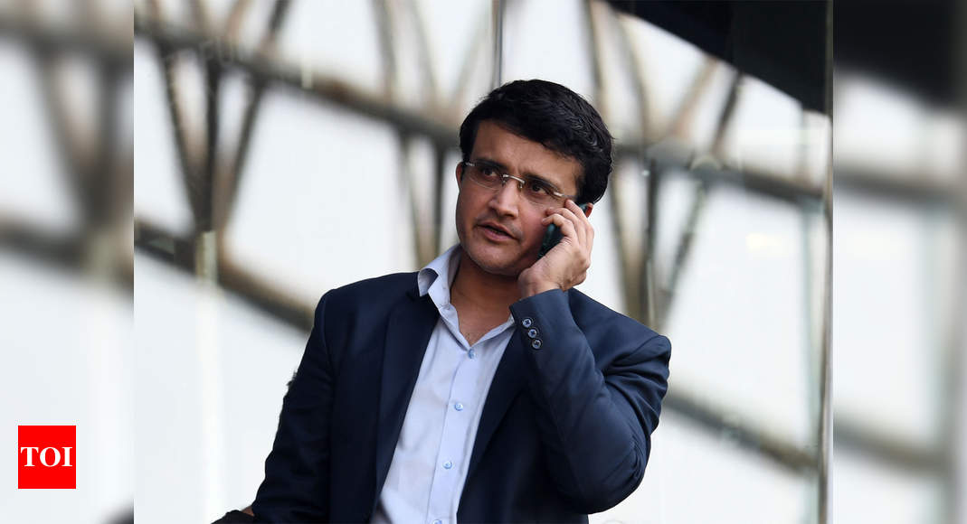 Expecting highest TV ratings for this IPL season: Sourav Ganguly - Times of India