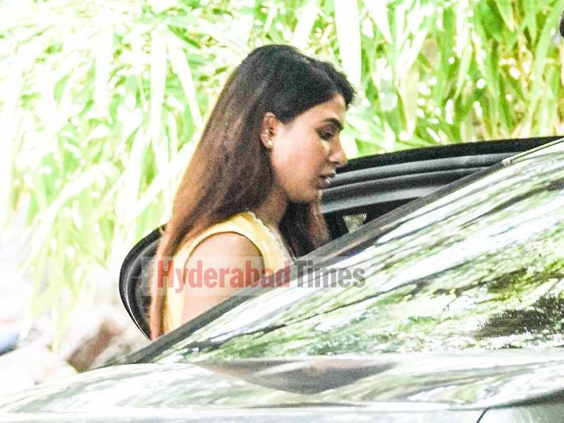 Spotted: Samantha Akkineni looking gorgeous in yellow as she steps out in the city