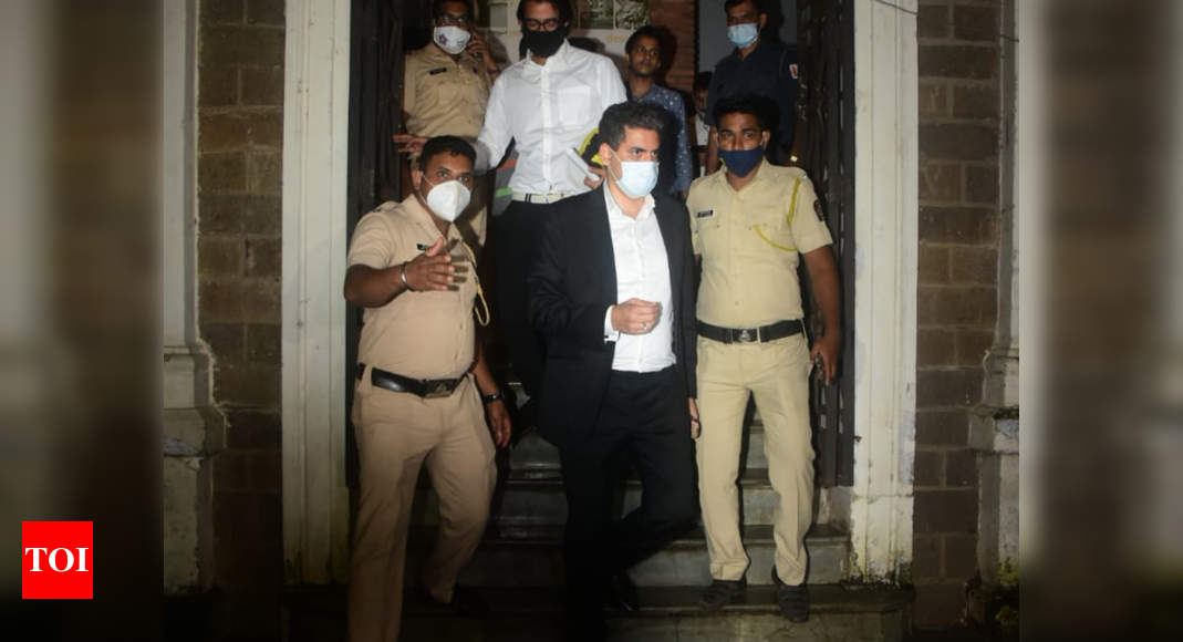 Sushant Singh Rajput case: Gaurav Arya leaves the Enforcement Directorate office after 8 long hours of in - Times of India