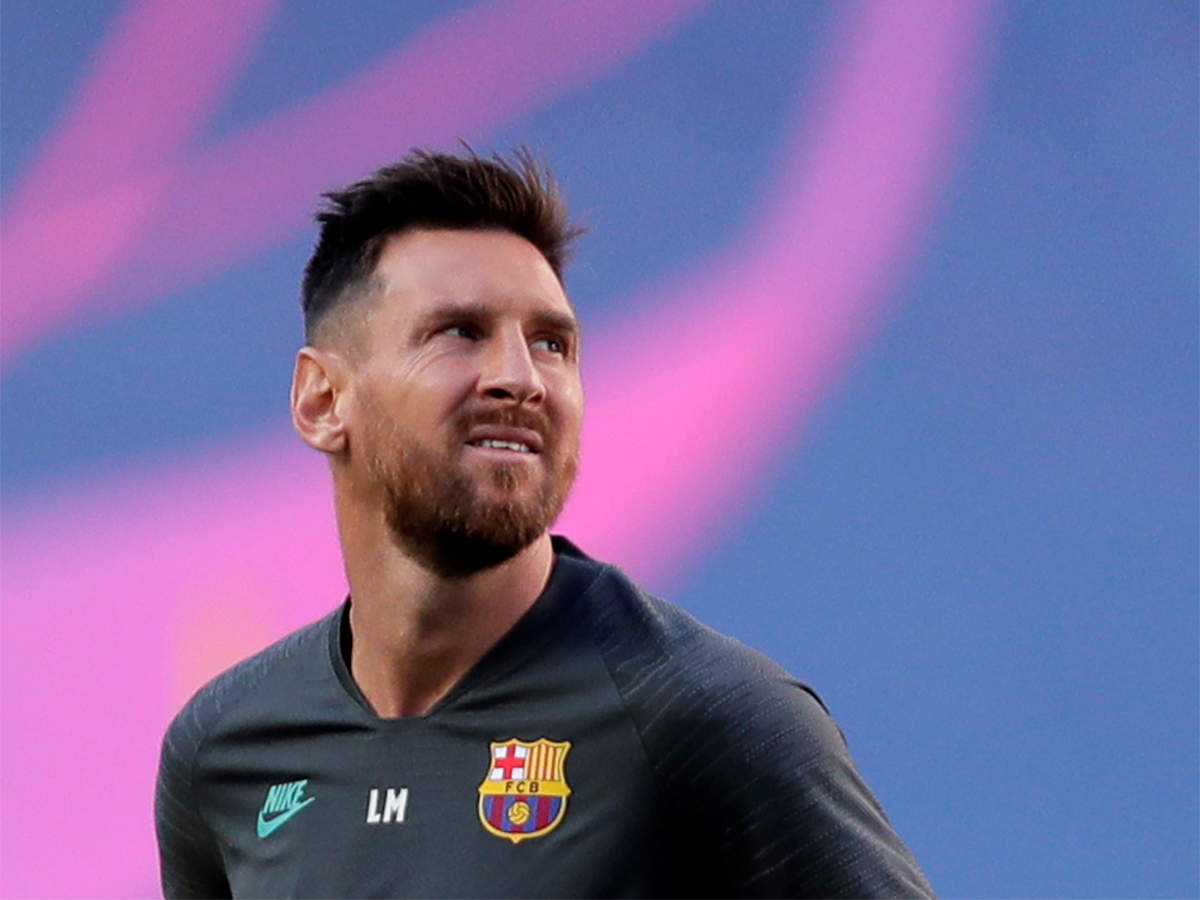 Messi Misses First Pre Season Training Session As Barcelona Stand Off Continues Football News Times Of India
