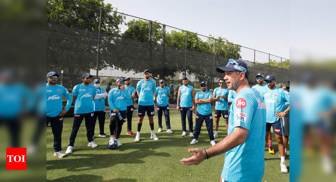 IPL: Ponting oversees his first training session with Delhi Capitals squad | Cricket News – Times of India