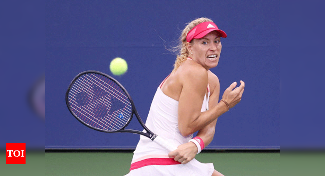 Kerber battles past Friedsam to reach US Open third round | Tennis News – Times of India