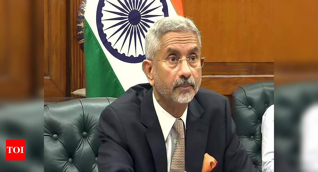 LAC face-off: Solution 'has to be found' in diplomacy, says foreign minister S Jaishankar - Times of India