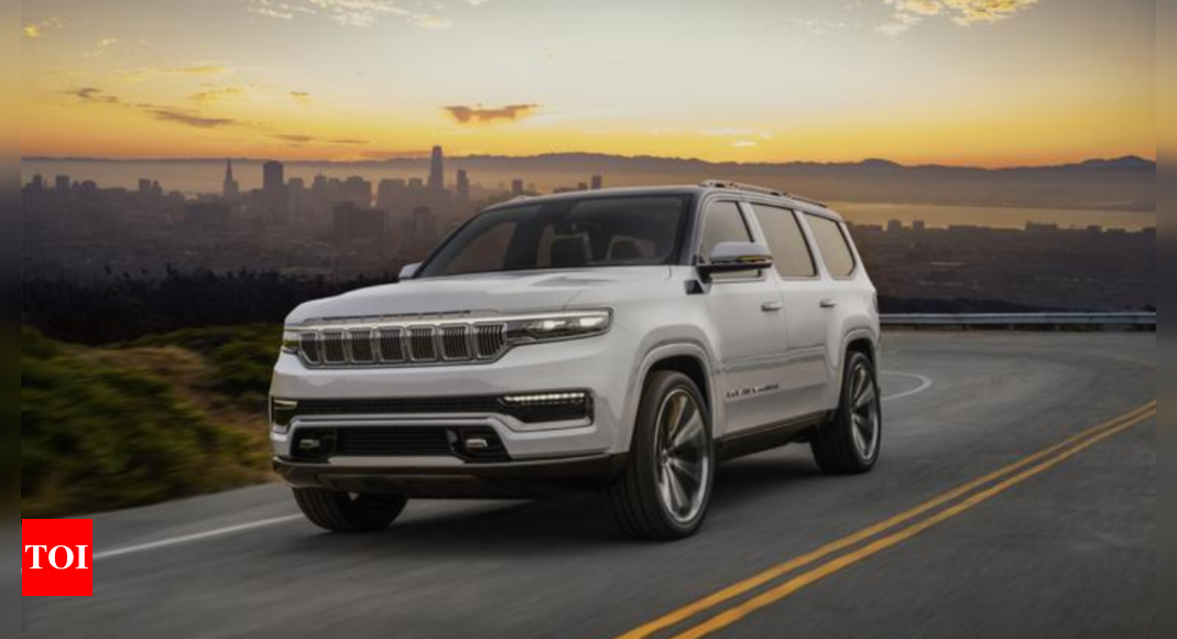 Jeep Grand Wagoneer Concept:  Jeep Grand Wagoneer Concept showcased, launch in 2021 – Times of India