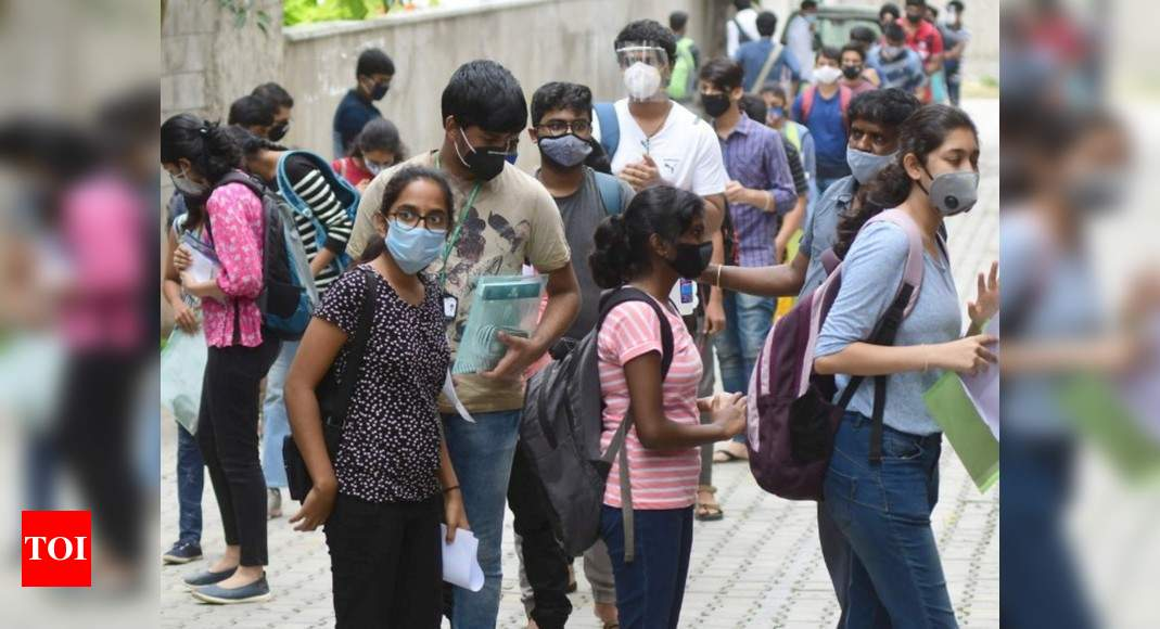 Supreme Court rejects plea of 6 non-BJP states against holding of NEET-JEE exams - Times of India