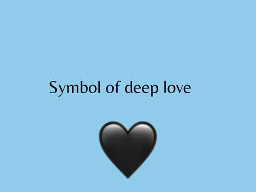 Emoji mean does what the heart blue Blue Heart