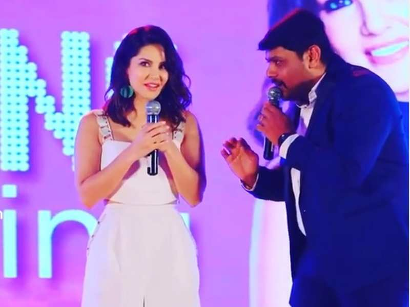This throwback video of Mithun Ramesh teaching Sunny Leone Malayalam is unmissable