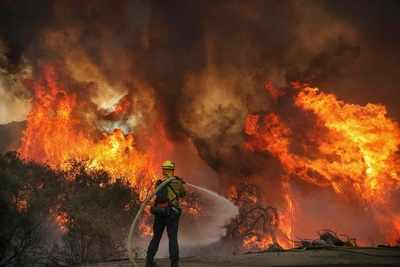 California Fire Which Destroyed 28 Km Started From Gender Reveal Party Firework