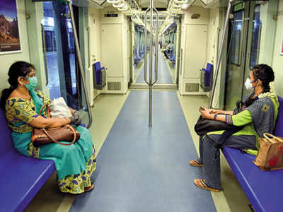 7,500 passengers use Delhi Metro as services resume on Yellow line