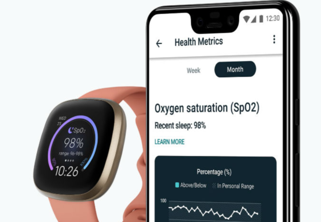 Fitbit smartwatch users can now track blood oxygen level easily