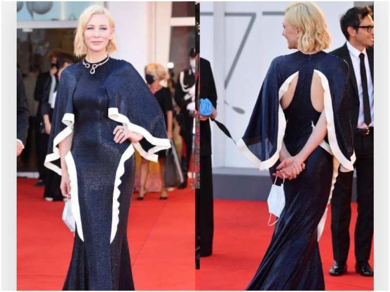 Cate Blanchett has reworn her outfits at the Venice Film Festival this year