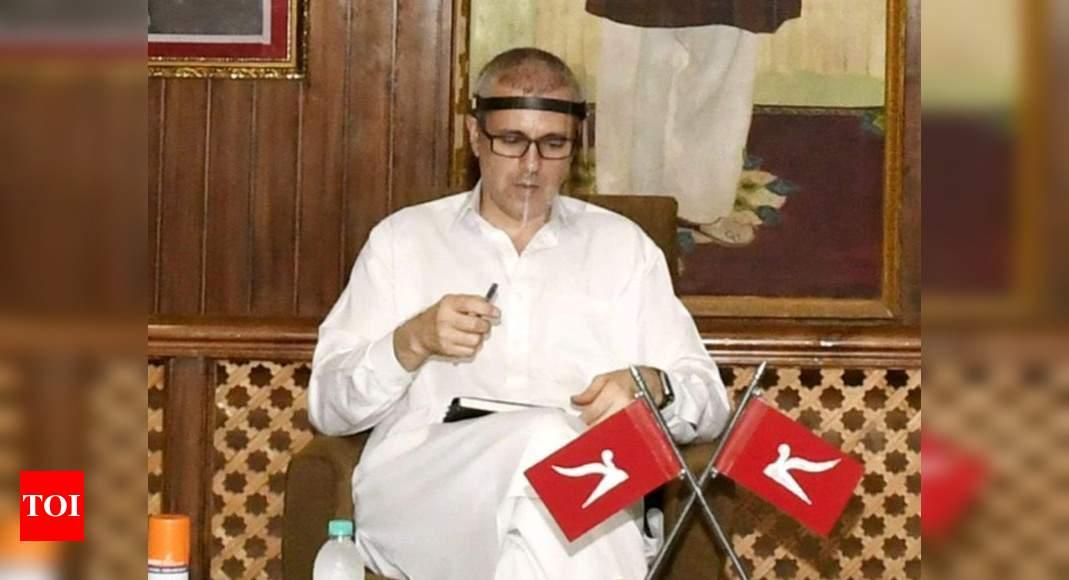 Omar Abdullah seeks time to vacate Srinagar Gupkar Road government bungalow | India News – Times of India