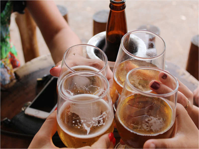 Over 1 drink a day ups high BP risk in diabetic people: Study