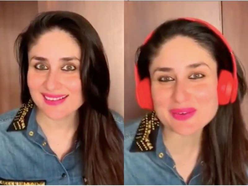 Kareena Kapoor Khan's denim shirt is the perfect maternity garment