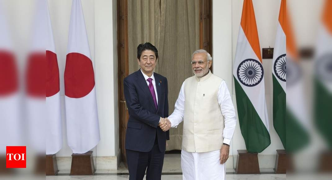 As Abe signs off, India-Japan ink military pact