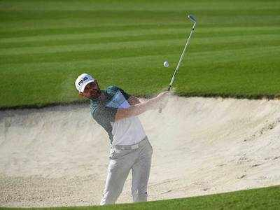 Scotland's Liam Johnston (61) leads in Portugal after career round