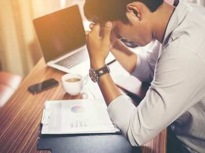 5 signs of work-place burnout