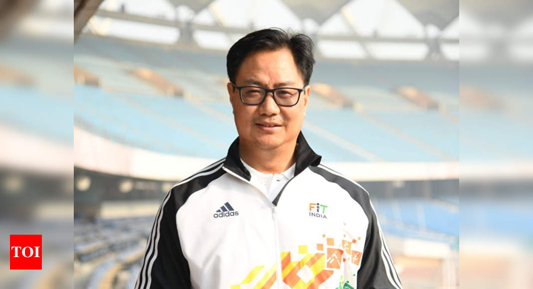 Covid-19 scare for sports minister Kiren Rijiju, SAI DG Pradhan | Off the field News – Times of India