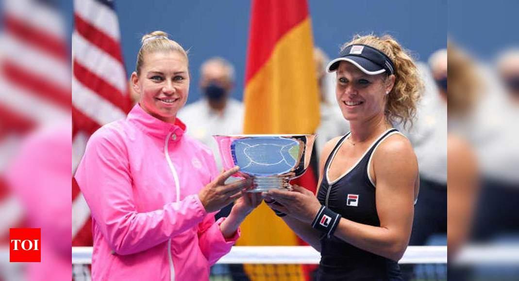 Zvonareva, Siegemund win US Open women's doubles title | Tennis News – Times of India