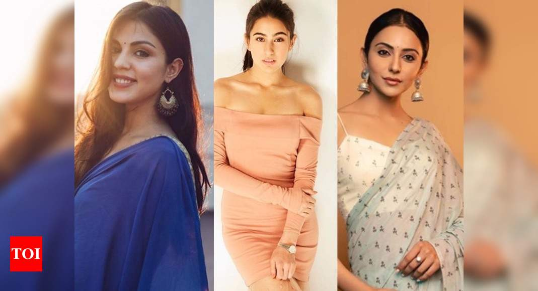 Sushant Singh Rajput death row: Sara Ali Khan, Rakul Preet Singh and Simmone Khambatta under NCB scanner after Rhea Chakraborty confesses their names in drug case – Times of India