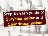 Step-by-step guide to Suryanamaskar and Chandranamaskar