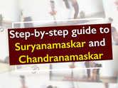 Step-by-step guide to Suryanamaskar and Chandranamaskar