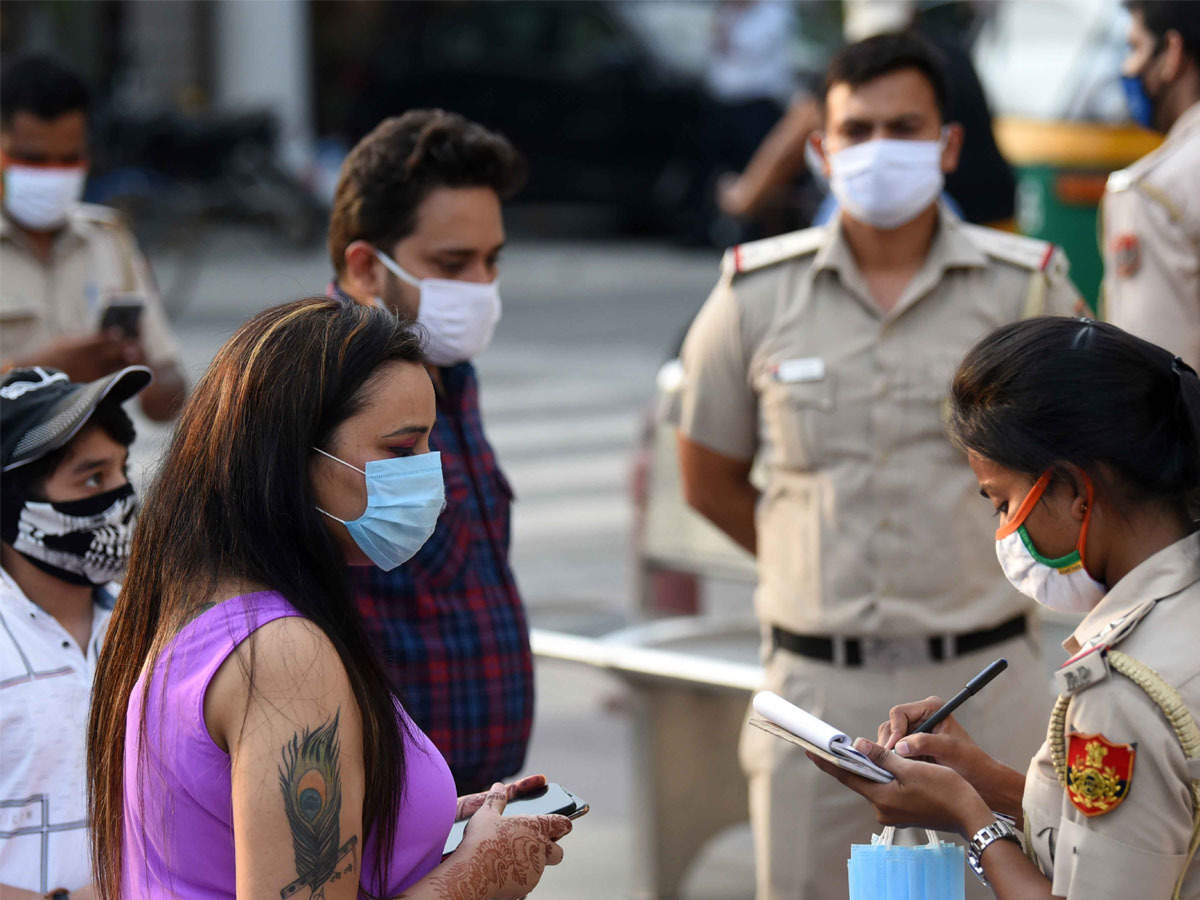 BMC to fine those without masks Rs 200 from today | Mumbai News - Times of  India