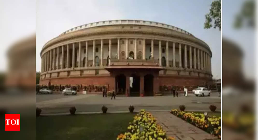 MPs separated by plastic sheets, Parliament meets today - Times of India