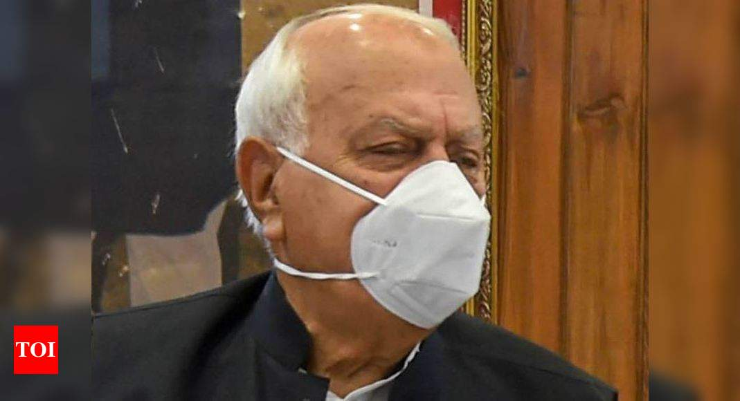 Farooq Abdullah attends Parliament 1st time after Article 370 abrogation - Times of India