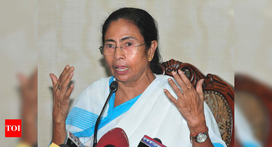 West Bengal: Mamata announces monthly allowance, free housing for Brahmin priests ahead of polls - Times of India