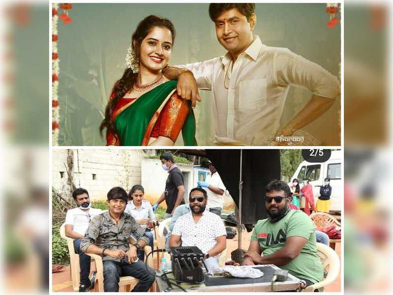 Sharan begins shooting for Avatar Purusha's final schedule