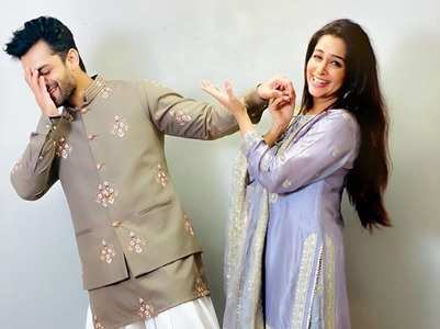 Dipika turns hubby Shoaib's make-up artist