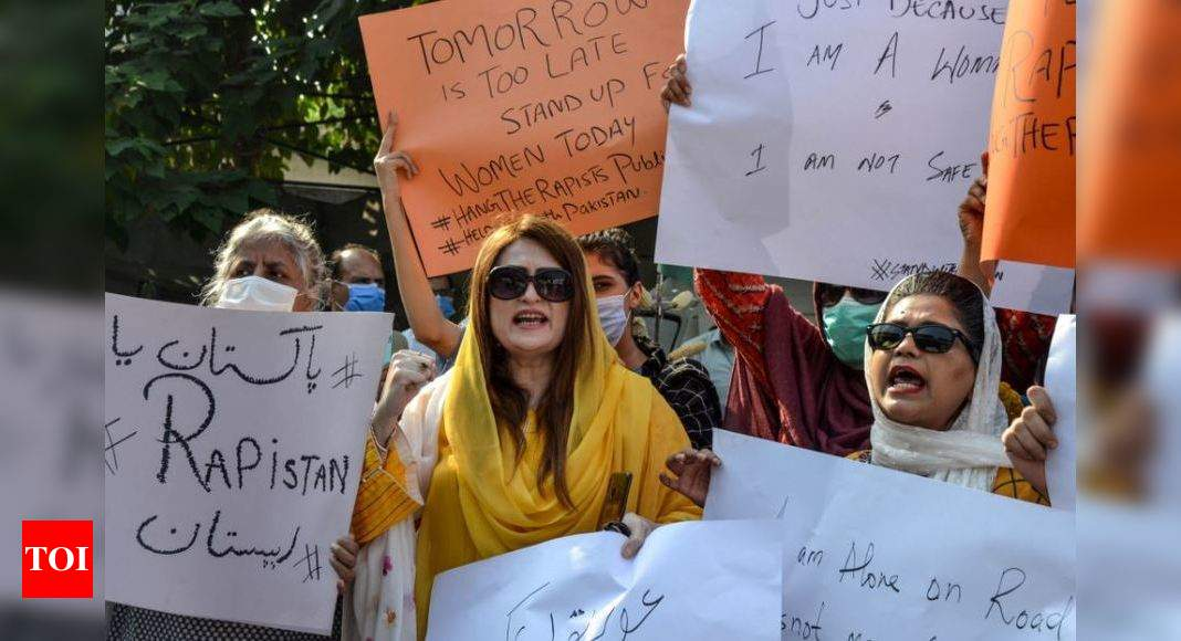 Gang-rape case prompts Pakistan PM Khan to call for chemical castration – Times of India