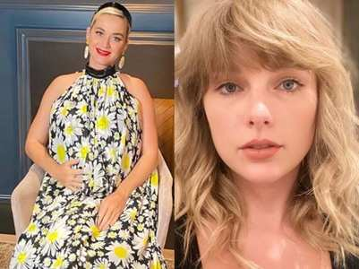 Taylor sends Katy an embroidered blanket