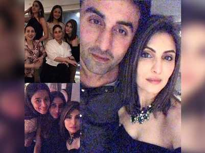 Bebo, RK, Alia attend Riddhima's b'day bash