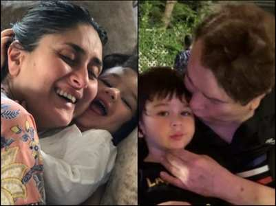 Pics: Taimur with Kareena & Randhir