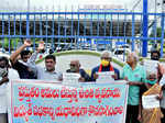 Farmers stage protests against agri-ordinances