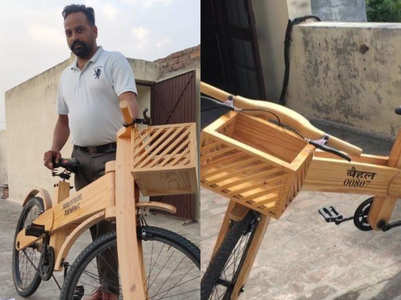 Made in India: Punjab man develops cycle at home