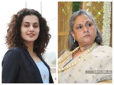 Taapsee hails Jaya's support for B'wood