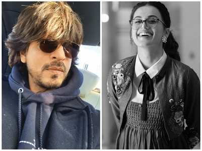 Taapsee-SRK to team up for Hirani's next?