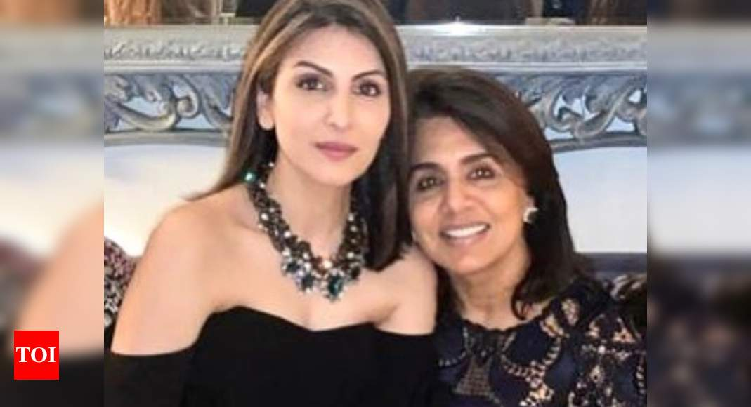 Neetu Kapoor pens an emotional birthday wish for daughter Riddhima Kapoor Sahni; See PHOTO - Times of India