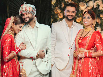 Unseen pics from Balraj-Deepti's wedding