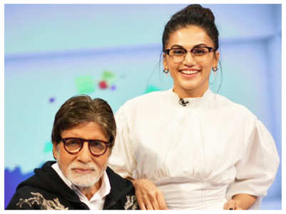Taapsee: Enjoyed Big B's company as a co-star