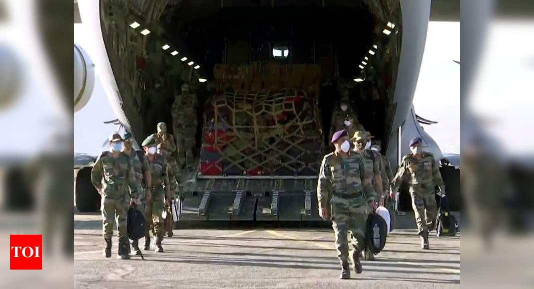 Amid tensions at LAC, Army prepares for long winter in Ladakh - Times of India