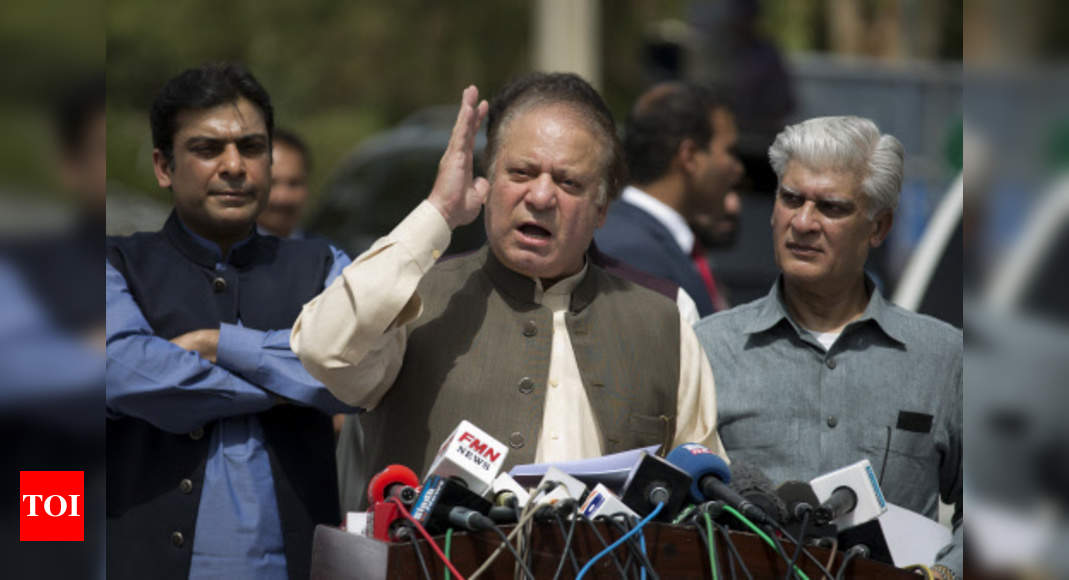 Pakistani court issues arrest warrant for former PM Sharif – Times of India
