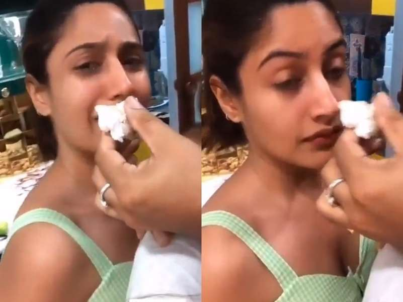 Surbhi smelling the cake illustrates the woes of people on dieting
