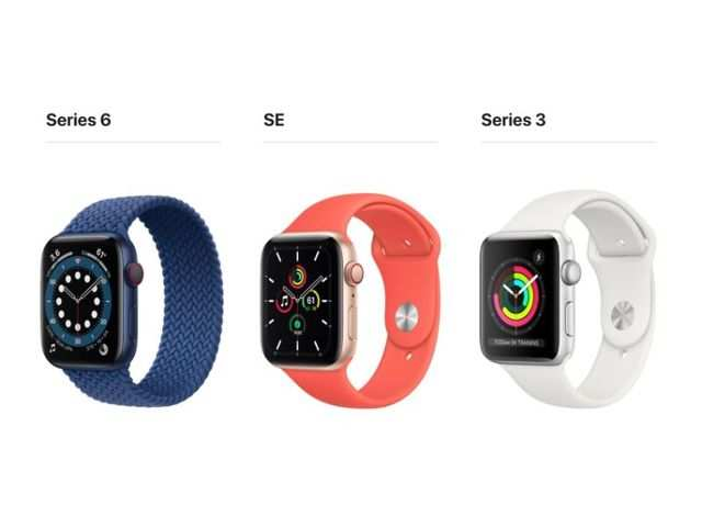 Apple Watch 5 'disappears' from official site after Watch 6 launch