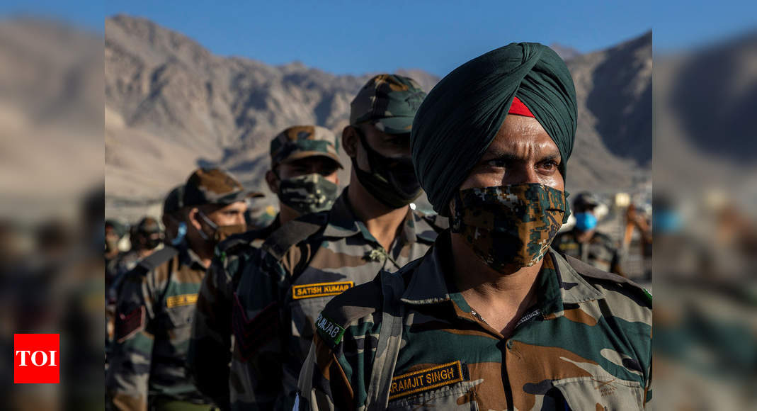 Indian Army fully geared to fight full-fledged war in eastern Ladakh: Northern Command - Times of India